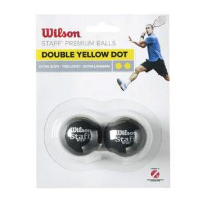 Wilson 2 Pack Blister Squash Balls