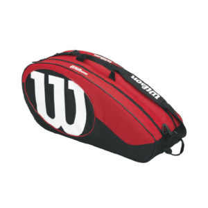Wilson Match II 6 pack red/black (WRZ820606)