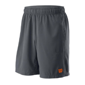 "Wilson Mens UWII Woven 8"" Shorts (Black)"