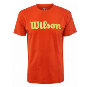 Wilson Men's Script Cotton T-Shirt