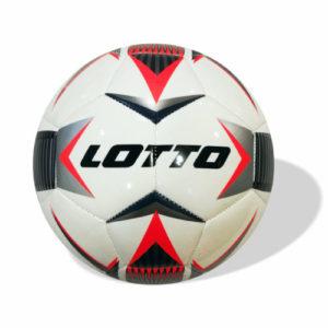 Lotto FB1000 IV Soccer Ball (Red/Black) 5