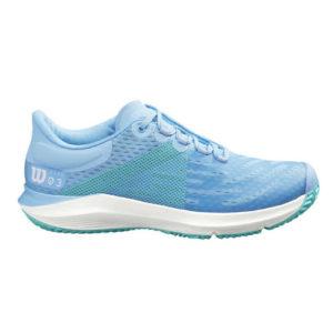 Wilson Women's Kaos 3.0 Tennis Shoe (Alaskan Blue/Omphalodes/Aqua)
