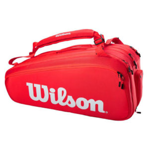 Super Tour 15 Pack Tennis Racket Bag (Red) WR8010301001