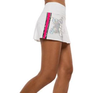 Long Shining Star Skirt (White)