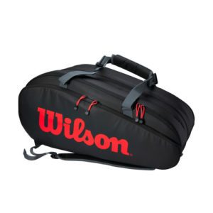 Tour 3 Comp Clash Racket Bag (Black/Infrared/Grey) WR8005001001